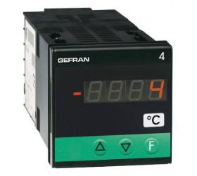 Zobrazovač teploty konfigurovatelný Gefran 4T48