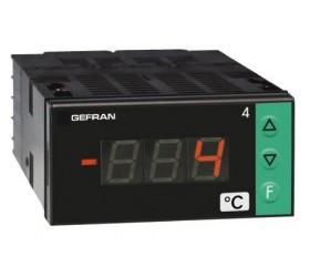 Zobrazovač teploty konfigurovatelný Gefran 4T72