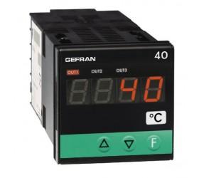 Zobrazovač teploty, alarm mezních hodnot Gefran 40T48