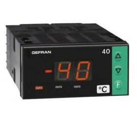Zobrazovač teploty, alarm mezních hodnot Gefran 40T72