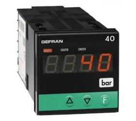 Zobrazovač pozice, síly, tlaku, jednotka alarmu Gefran 40B48