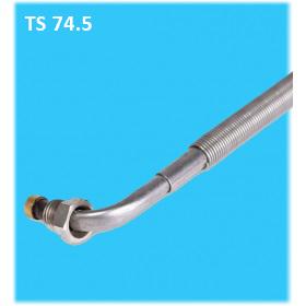 Přímý termočlánek v šikmém provedení pro šroubování ETB-Bach 74,5